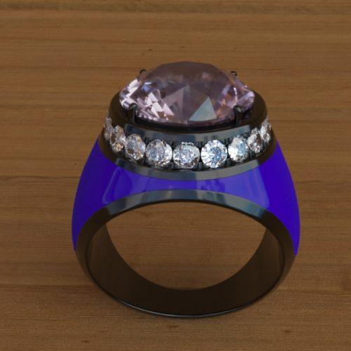stefanomimmocchirendering modellazione 3D anello per Saracinoroma lavori portfolio - rendering