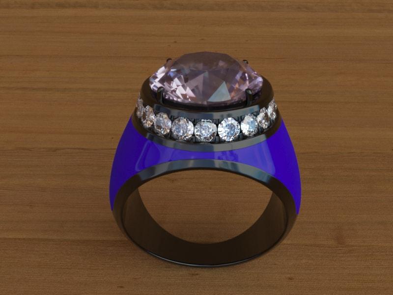 stefanomimmocchirendering modellazione 3D anello per Saracinoroma lavori portfolio