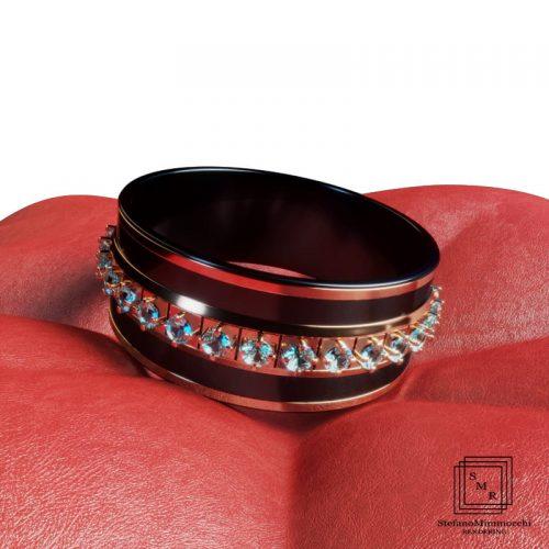 stefanomimmocchirendering lavori portfolio modellazione 3D e rendering anello