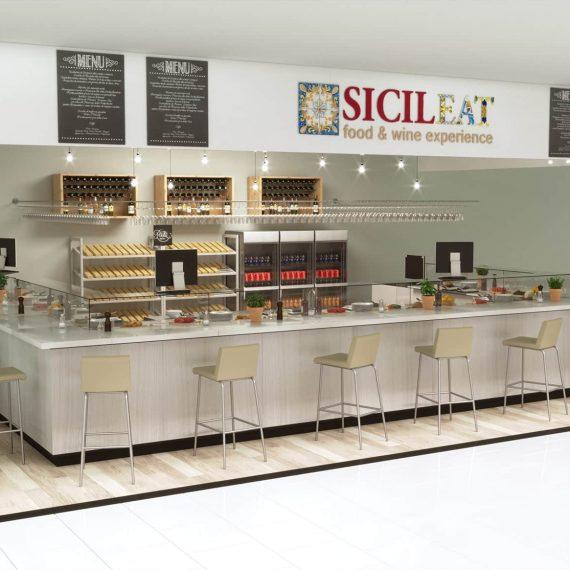 stefanomimmocchirendering render progetto area ristorazione versione chiara lavori Render progetto area ristorazione