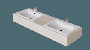 stefanomimmocchirendering download oggetti 3d Doppio lavabo - double sink-min