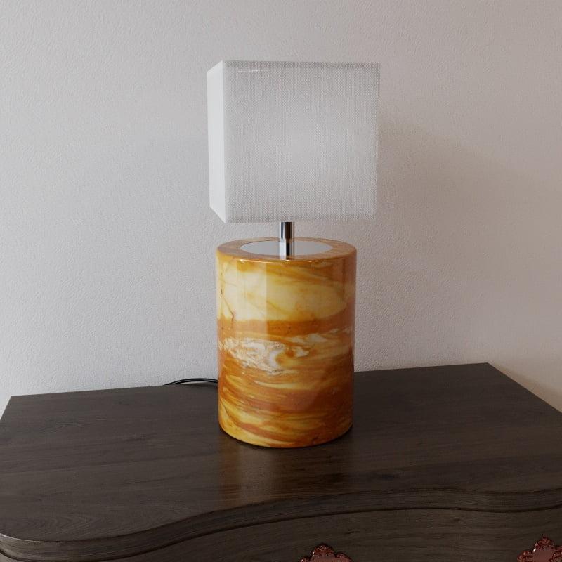 Lampada rendering prodotto MaurizioFredaArchitect - rendering prodotto - rendering lampada da tavolo - rendering e-commerce