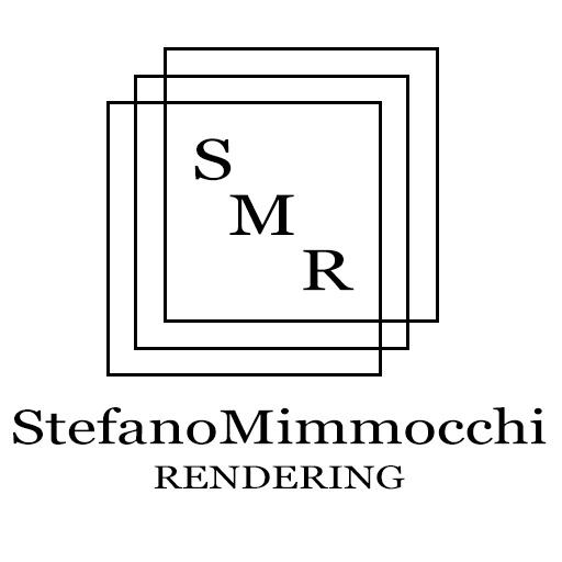 stefanomimmocchirendering logo home rendering modellazione 3D listino prezzi home rendering roma - progettazione grafica logo del nostro studio - logo grande