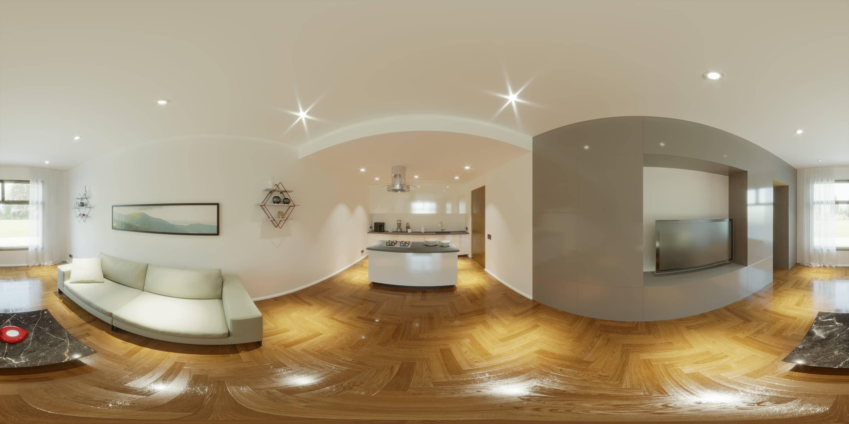 3D Immobiliare Terni studio 3d mimmocchi rendering - virtual tour 360° per