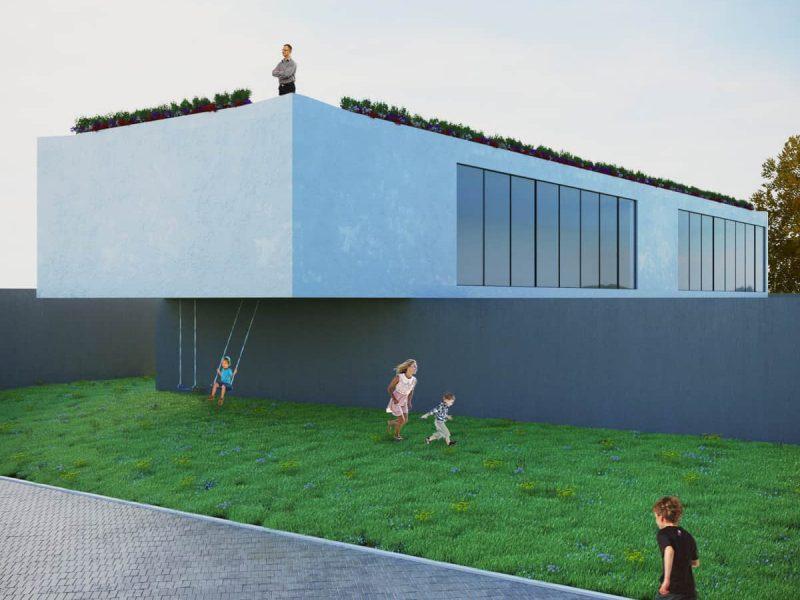 rendering esterni area giochi - rendering roma - rendering progetto - rendering architettura - studio rendering roma - preventivo rendering esterni - render esterni per l'architettura - progettazione e ristrutturazione Lugano - studio rendering Lugano - rendering progetti 3D