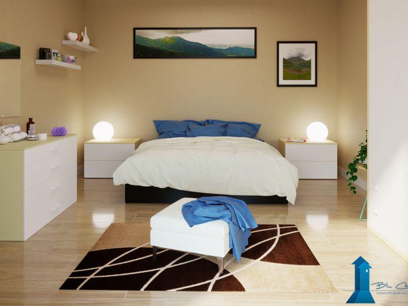 www.stefanomimmocchirendering.com - Rendering camera da letto