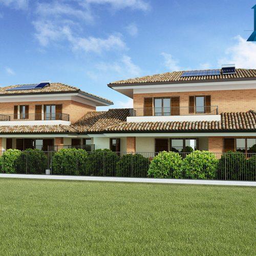 Render vista 1 esterno villa - www.stefanomimmocchirendering.com