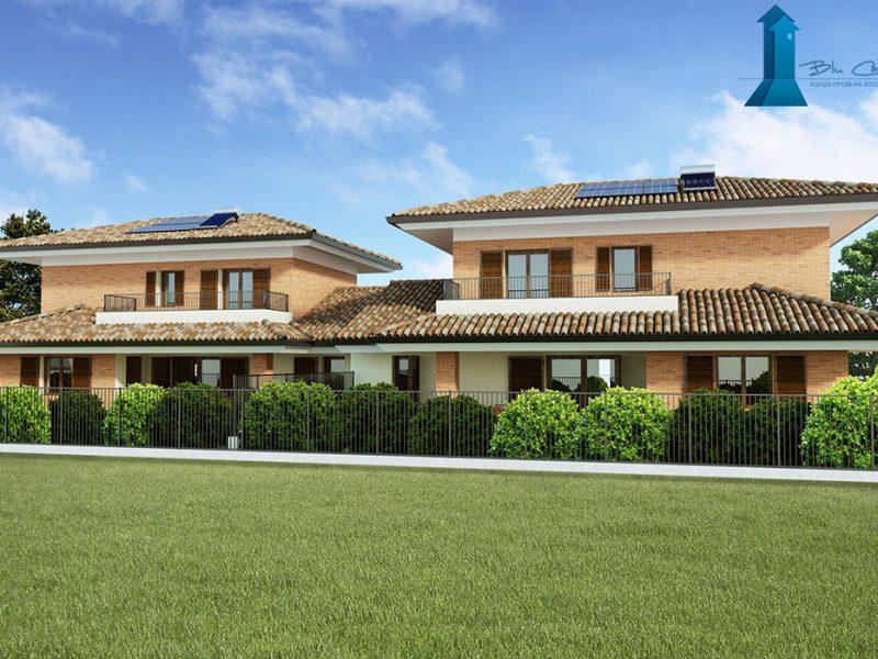 Render vista 1 esterno villa - www.stefanomimmocchirendering.com - preventivo render esterni
