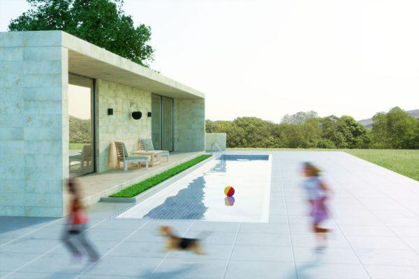 rendering esterni - rendering villa - rendering ristrutturazione - rendering 3D - rendering per tavole di concorso - animazione 3D Bellinzona