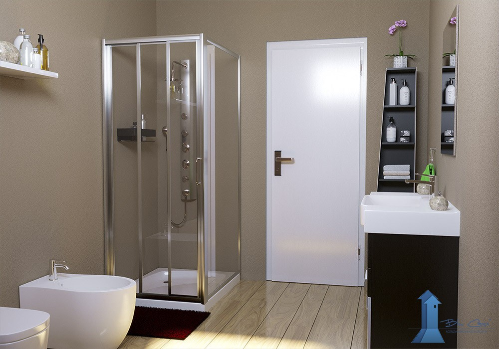 Rendering interni per agenzia immobiliare - rendering interni - rendering arredamento - ristrutturazione e progettazione - rendering bagno