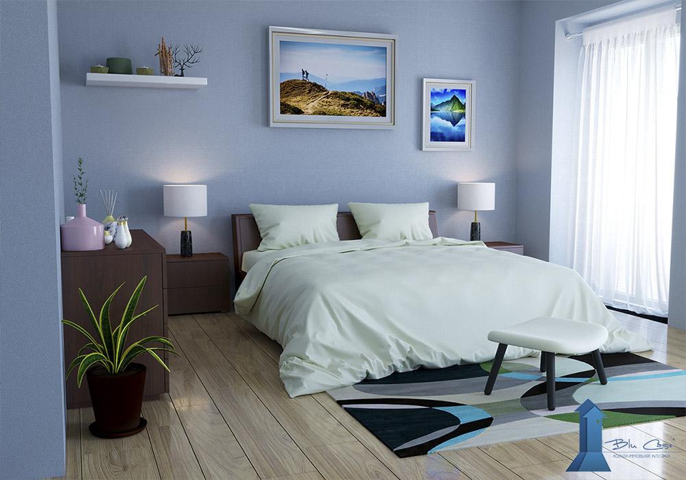 Rendering interni per agenzia immobiliare - rendering interni - rendering arredamento - ristrutturazione e progettazione - rendering camera da letto