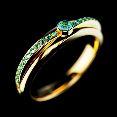 rendering anello per privato, rendering di prodotto, rendering per cataloghi, modellazione 3D prodotti