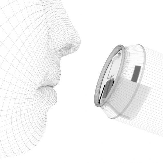 Animazione 3D brevetto lattina - Animazione 3D Roma - Rendering prodotto