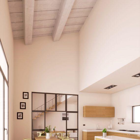 Rendering interni - Progettazione arredamento moderno - Rendering per studi di architettura
