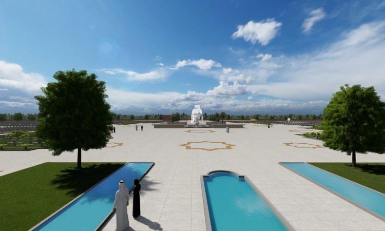 Animazione 3D Cimitero Islamico - parte 3
