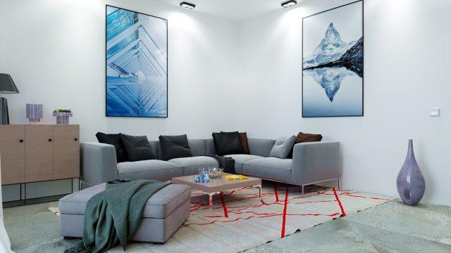 render interni - renderista - render appartamento villino - render per vendita immobile - render vendita villino trifamiliare