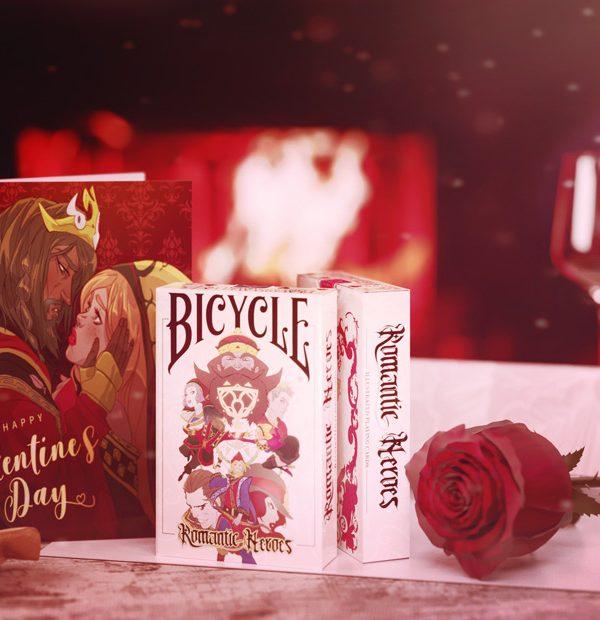 Rendering carte da gioco - Rendering per kickstarter - Rendering Romantic Heroes
