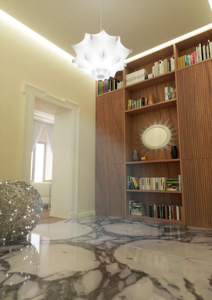 Rendering arredamenti interni moderni - Rendering interni - Rendering arredamento moderno - Rendering progetto arredo
