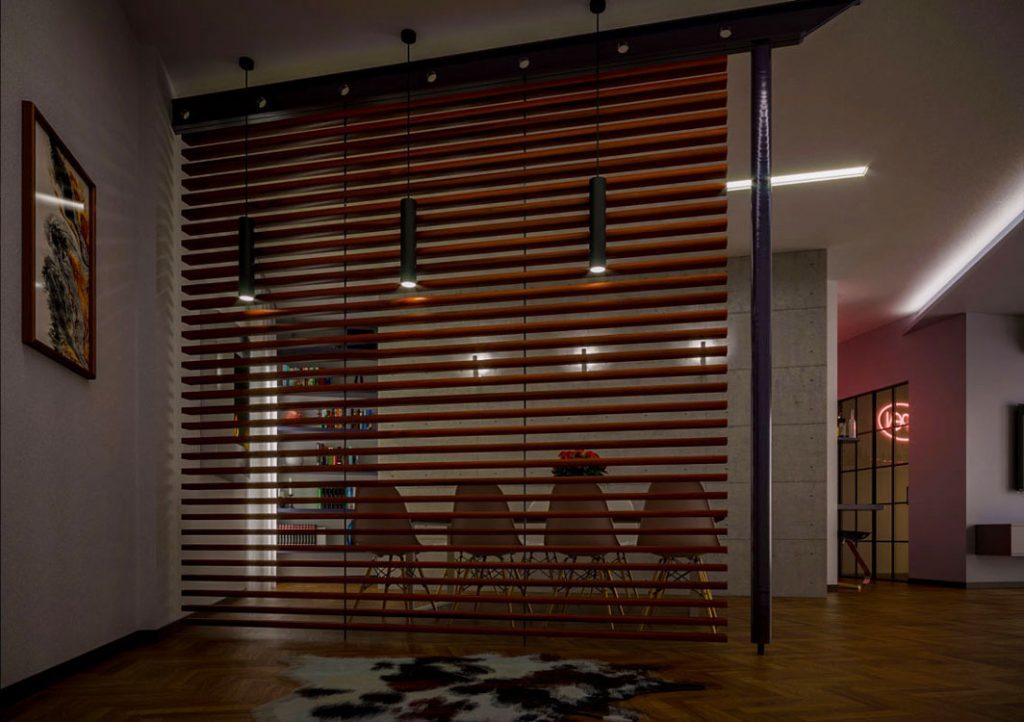 Render ristrutturazione appartamento - Rendering progetto arredamento - Interior rendering - Rendering per studi di progettazione